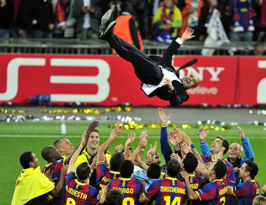 Barcelona win 2011 Champions League final